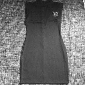 Solemio Body Con Dress